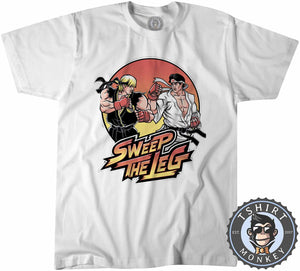 Sweep The Leg Tshirt Kids Youth Children 0191