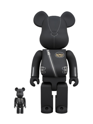 BE@RBRICK × Lewis Leathers 100% & 400% Set
