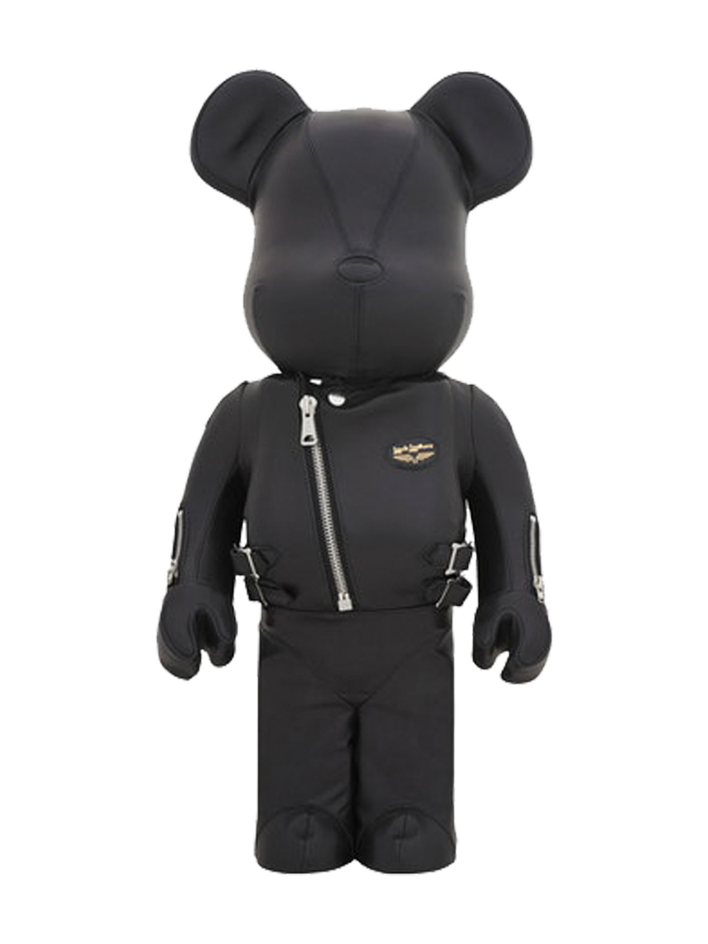 BE@RBRICK × Lewis Leathers 1000%