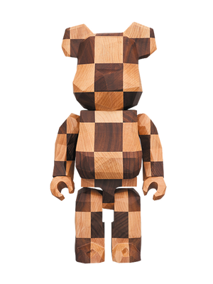 Bearbrick Karimoku x Fragment Polygon Chess 400%