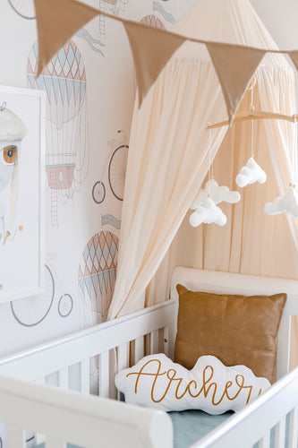 SOLD OUT!!! Spinkie Baby Sheer Canopy Nude PRE ORDER