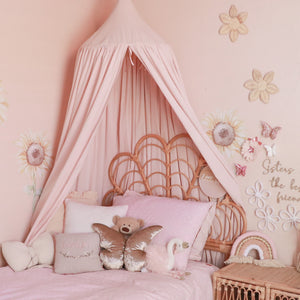 Organic Cotton Canopy - Light Peach - littledreamersinteriors
