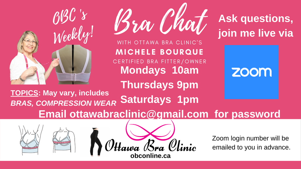 Fall 2020 Newsletter - Ottawa Bra Clinic for Online Shopping - Redesigned Online Shop