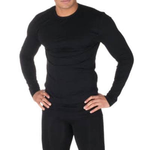 FIRMA ENERGYWEAR LONG SLEEVE THERMAL TOP (MEN'S) - Black - Small to 2X