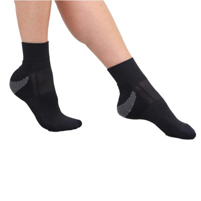 CIRCULATION SOCKS QUARTER CREW SPORT SOCKS UNISEX