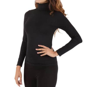 WOMEN'S RELAXED MOCK NECK SWEATER - Small to 2X