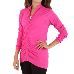 FIRMA ENERGYWEAR RUCHED ZIP JACKET (WOMEN'S)