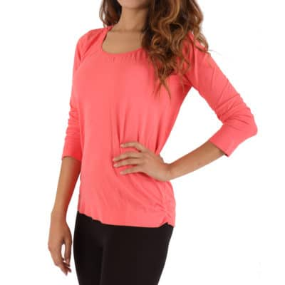 WOMEN'S LONG SLEEVE SCOOP NECK