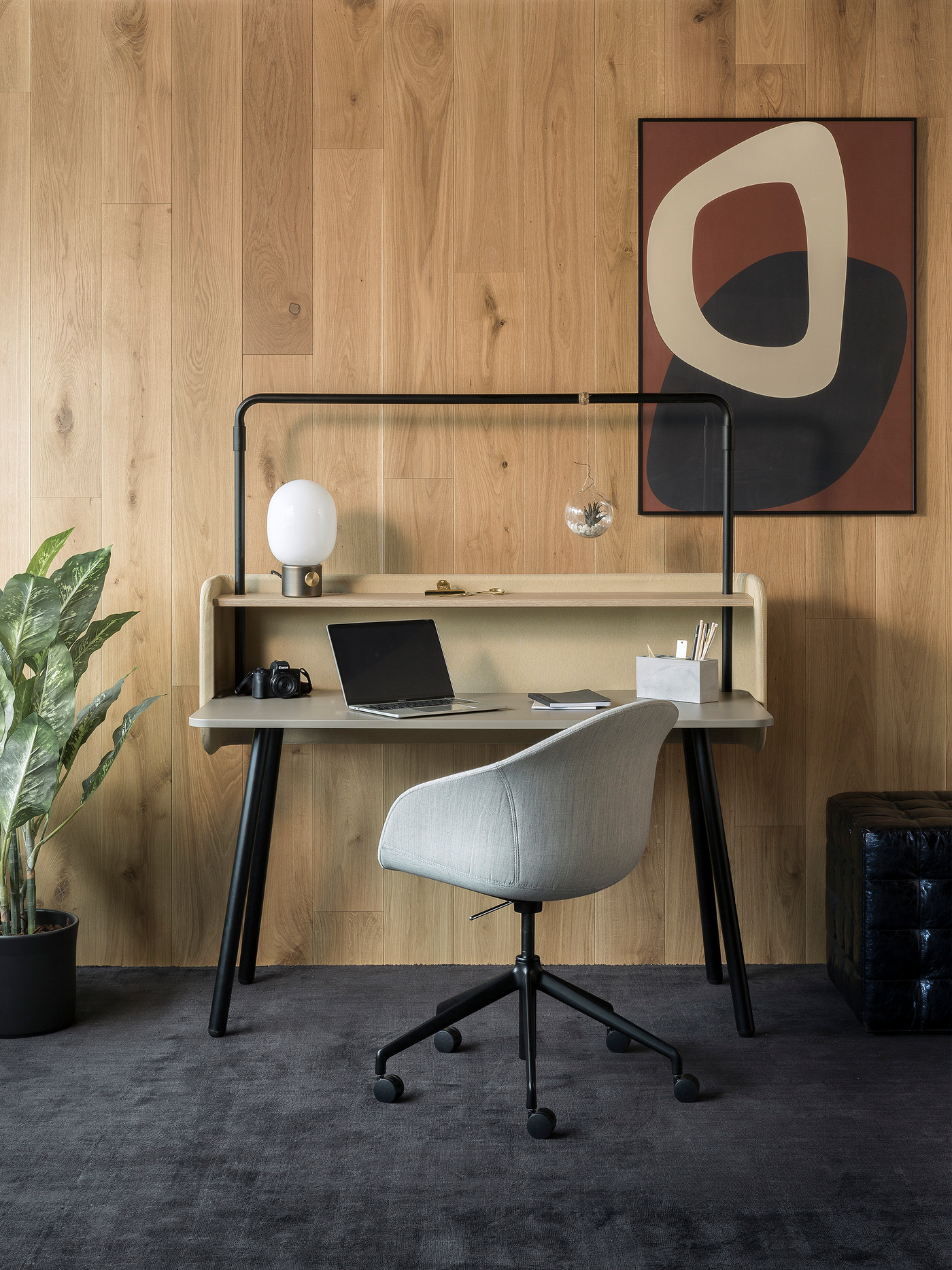 Home office desk Vitra Compas Direction
