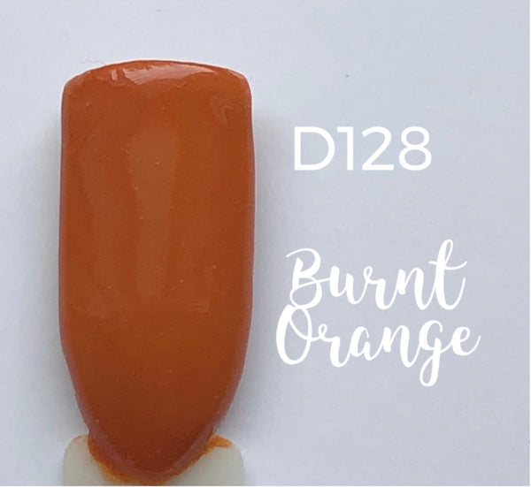 Nail Dip Powder, Burnt Orange-D128