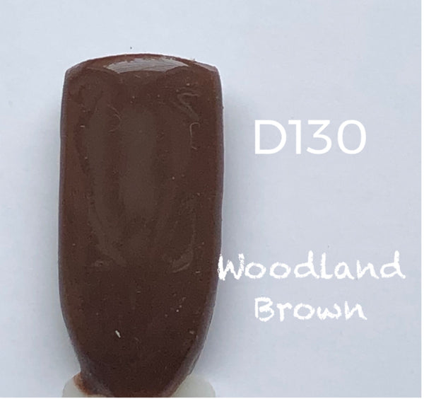 Nail Dip Powder, Woodland Brown-D130
