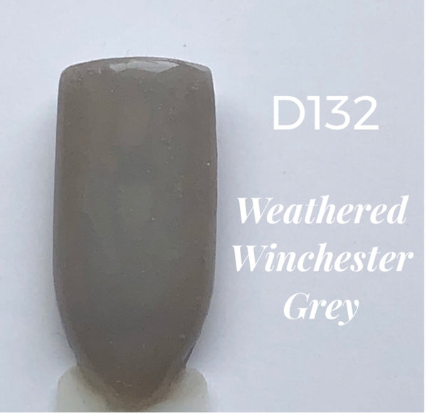 Nail Dip Powder .34 oz, Weathered Winchester Grey-D132