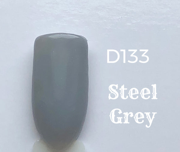 Nail Dip Powder .34 oz, Steel Grey-D133
