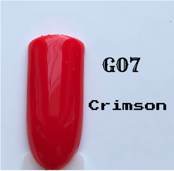 UV Gel Polish-Crimson G07