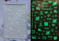 Nail Seal Decals 026