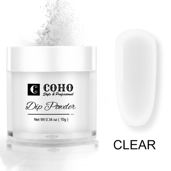 Nail Dip Powder, Clear-D135