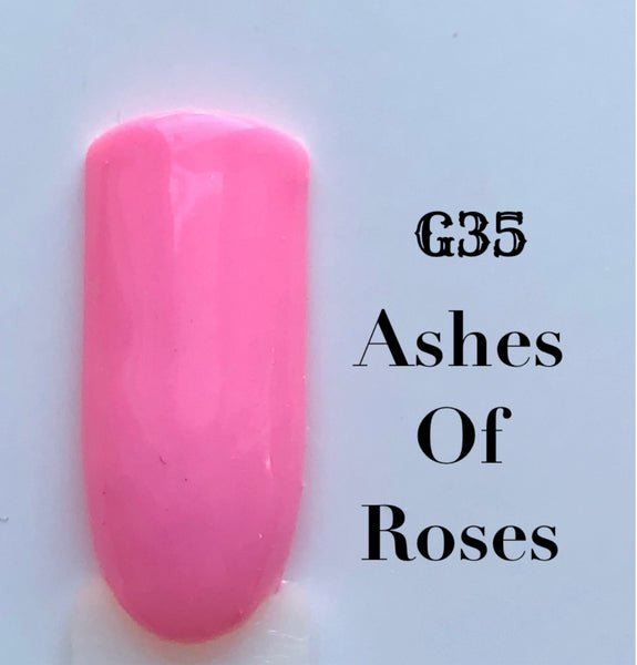UV Gel Polish-Ashes of Roses G35