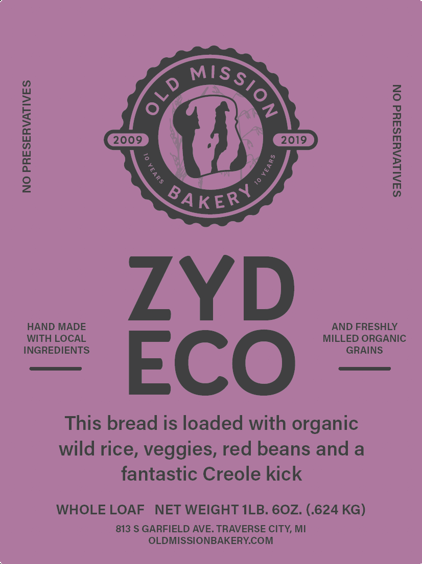 Zydeco Whole Loaf