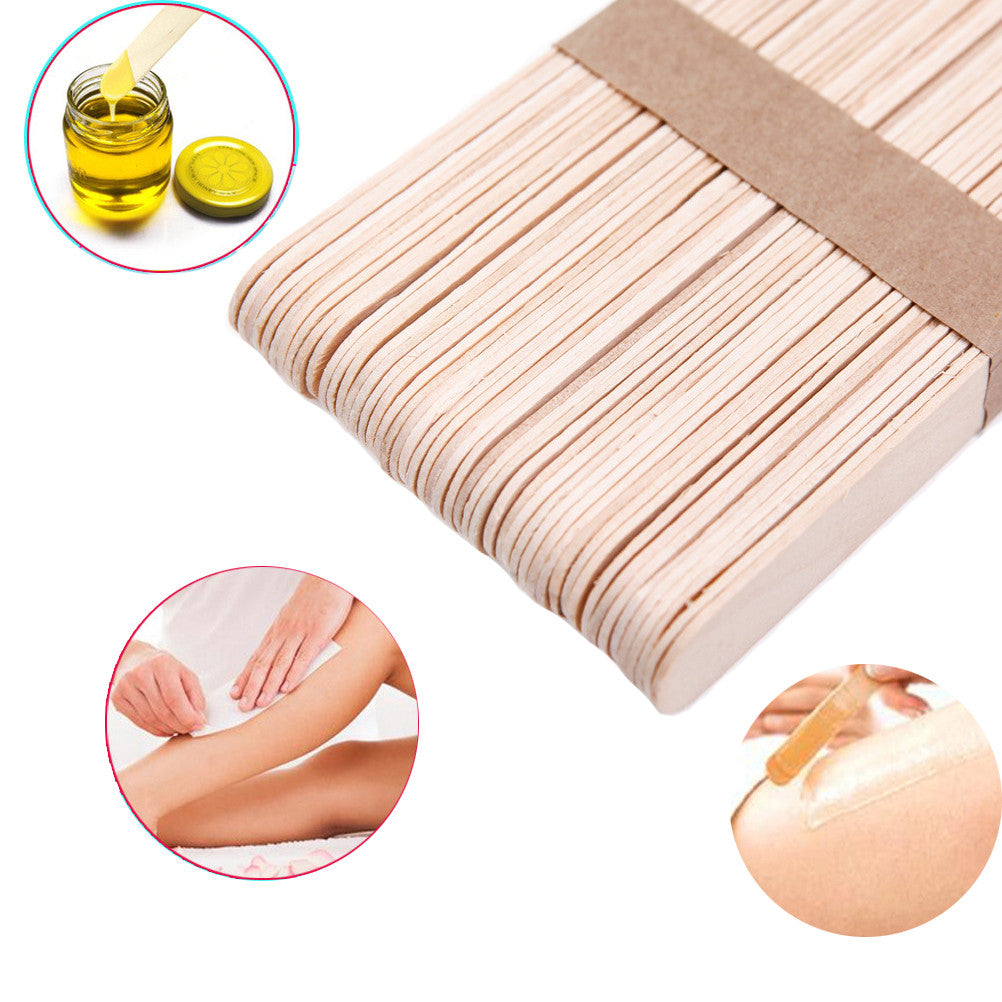 Disposable Waxing Spatulas Wax Stick Wooden Tongue Depressor