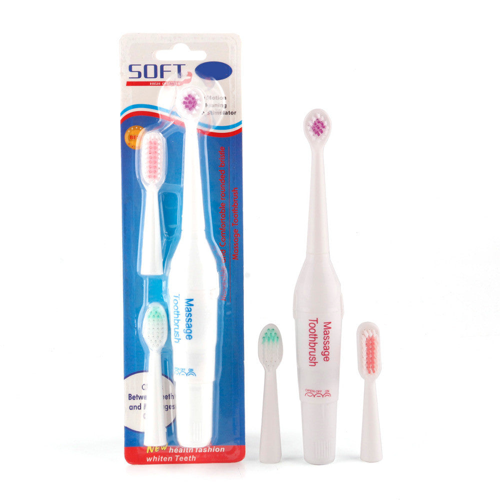 1Pc Electric Toothbrush with 3 Brush Heads Oral Hygiene Health Products