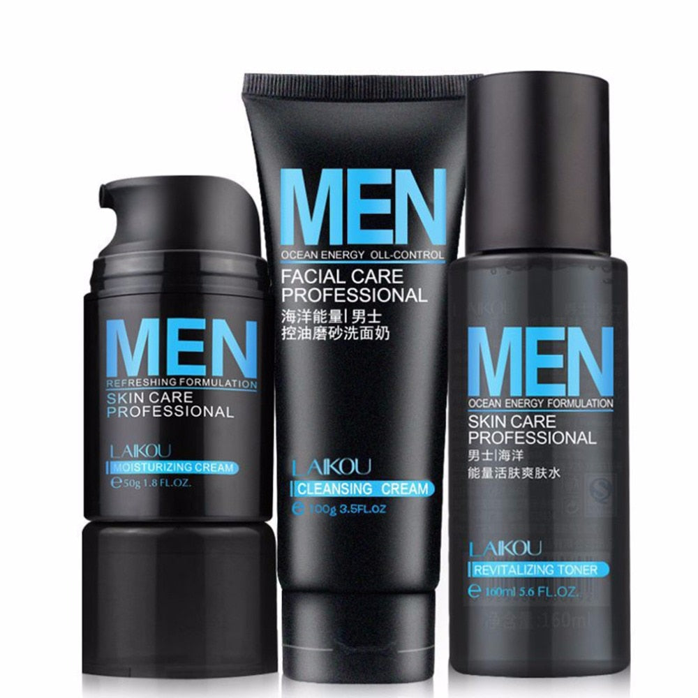 Ocean Energy Men Deep Cleansing Moisturizing Hydrating Oil Control Acne Blackhead Face Care Exfoliating Skin Care Cleanser