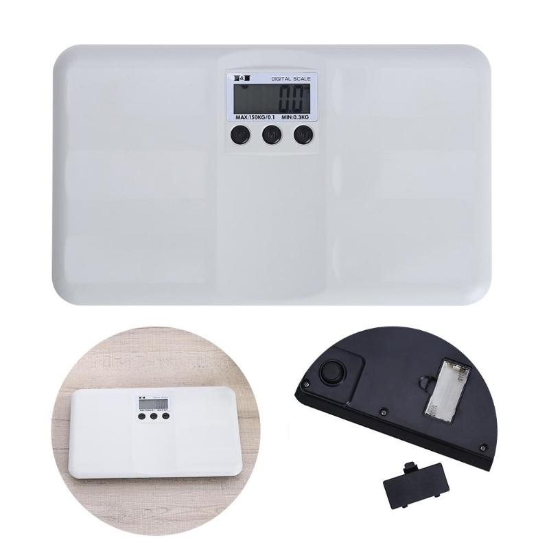"Multifunction Digital Mini Baby Scale Health Weight Low Power1.8"" LCD 150kg/100g Portable Baby Weight Pet Scale High Accuracy"