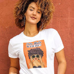 "Pelo Malo Where? Graphic Tee ""Binoculars"""