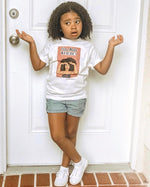 "Kids Pelo Malo Where? Graphic Tee ""Searching Hands"""