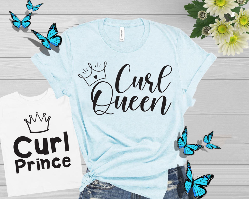 Curl Queen & Curl Prince Mother/Son T-shirt
