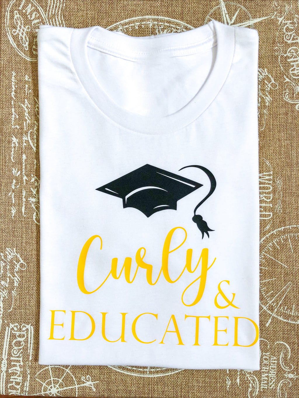 Curly & Educated T-shirt