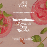 Hause of Curls INTL WMNS DAY BRUNCH 2020