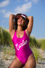 Curlie One Piece Swimsuit