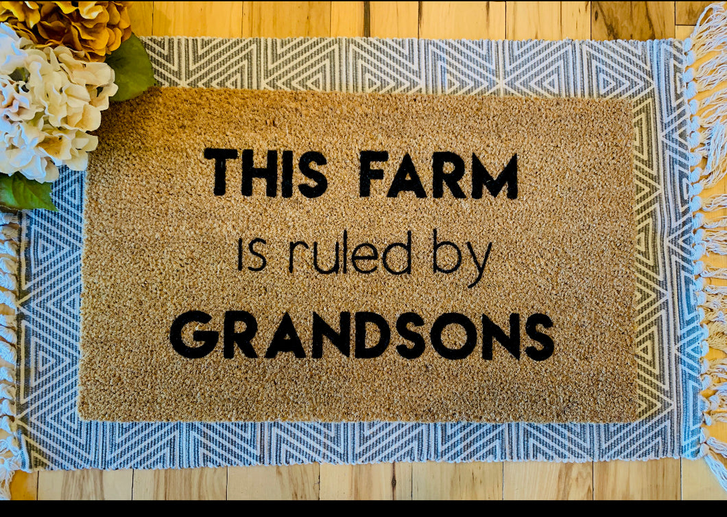This farm is ruled by Grandsons