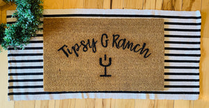 Ranch name + Brand