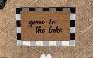 Gone to the lake