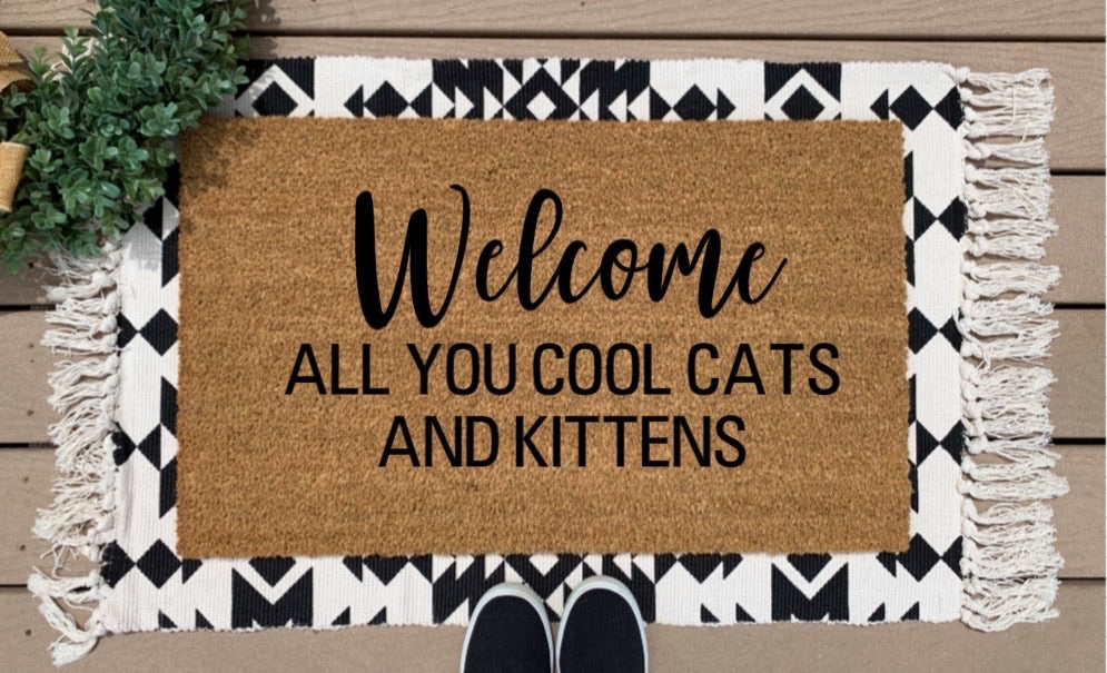 Welcome cool cats
