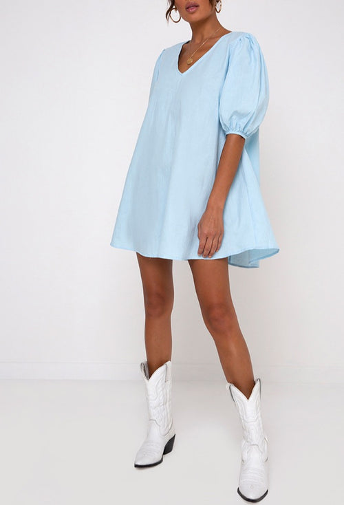 Elana Babydoll Dress