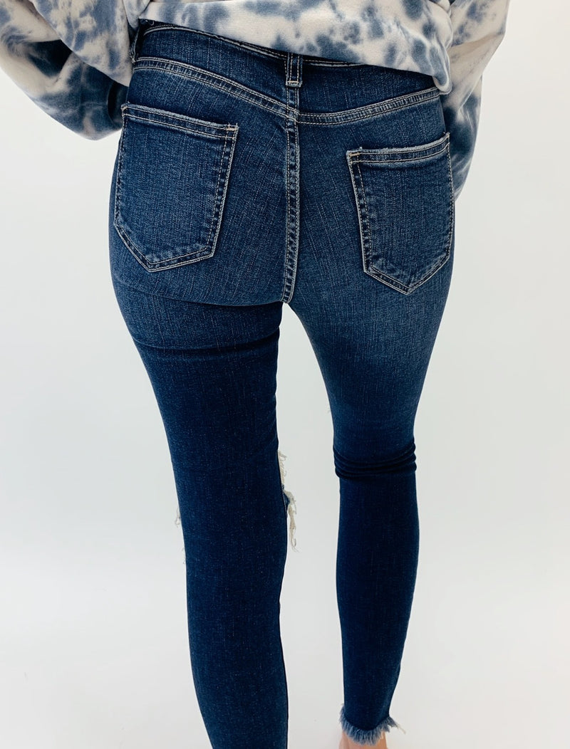 The Becca Jean- Dark Wash