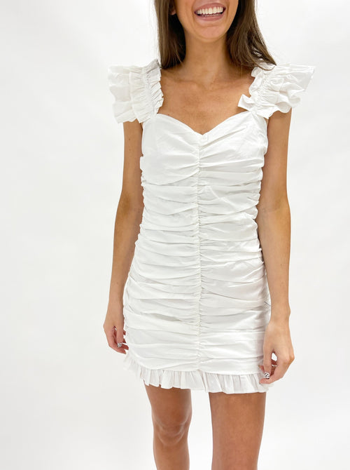 Leyla Ruched Dress