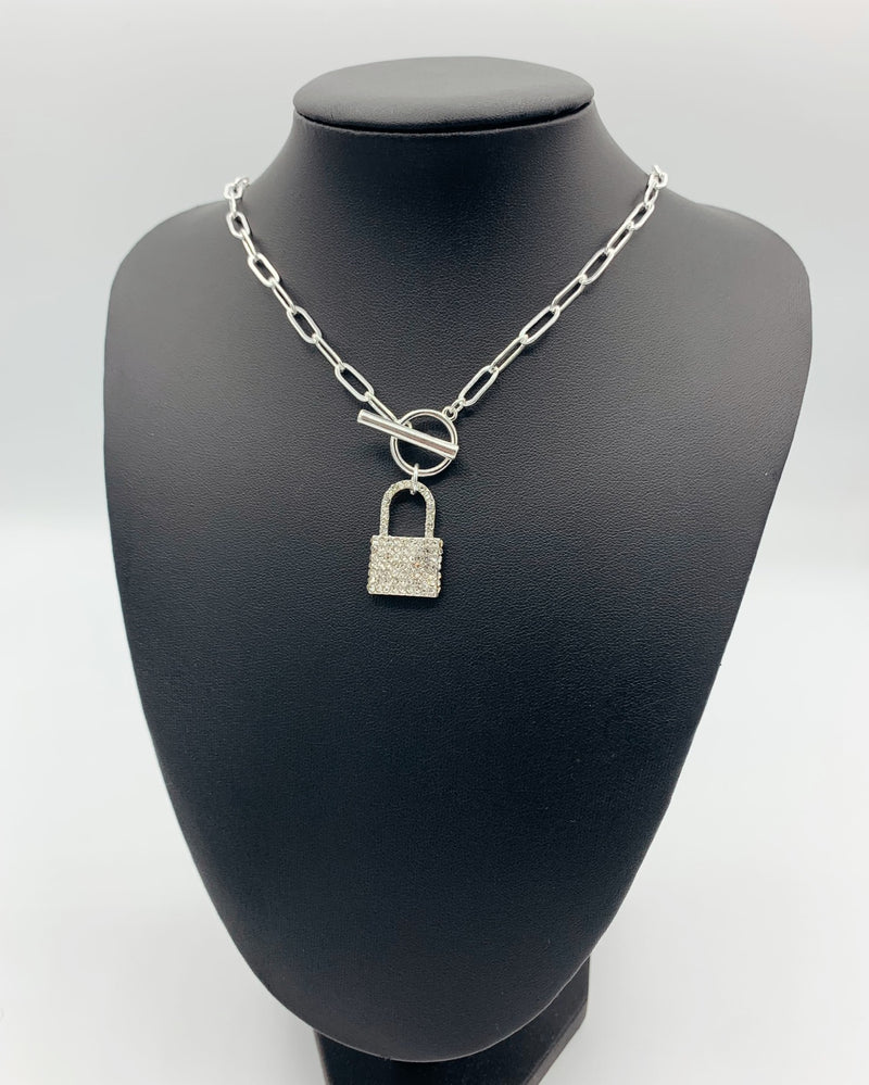 The Crystal Lock Necklace