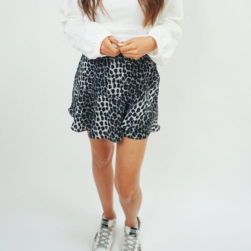 Cheetah Mini Skort