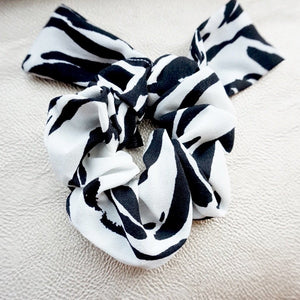 Mixed Print Scrunchie Set