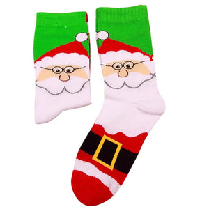 Winter Warm Christmas Cartoon Long Socks - Foxeey