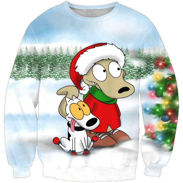 Christmas 3D Sweatshirt - Foxeey