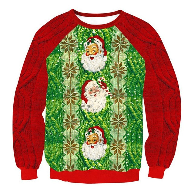 Christmas Sweatshirt - Foxeey