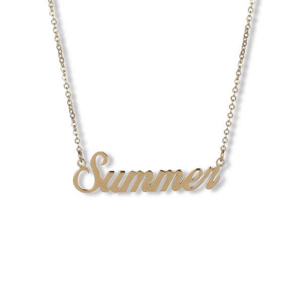L.N. Name Necklace