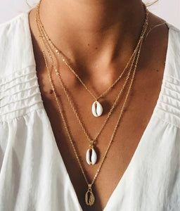 Trey Shell Necklace