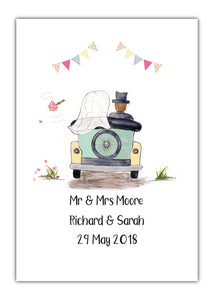 Personalised Wedding Prints