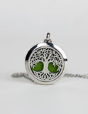 Celtic Tree of Life Aromatherapy Pendant