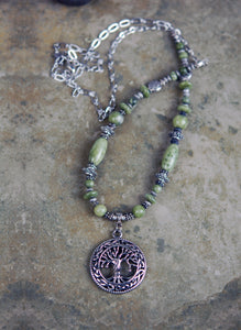 Connemara Marble with Tree of Life Focal
